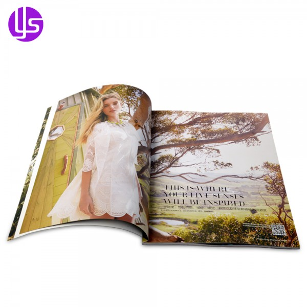 8bb94957 China Manufacturer Wholesale High Quality Custom Full Color Cheap Product  Advertising Perfect Bound A4 Fashion Magazine